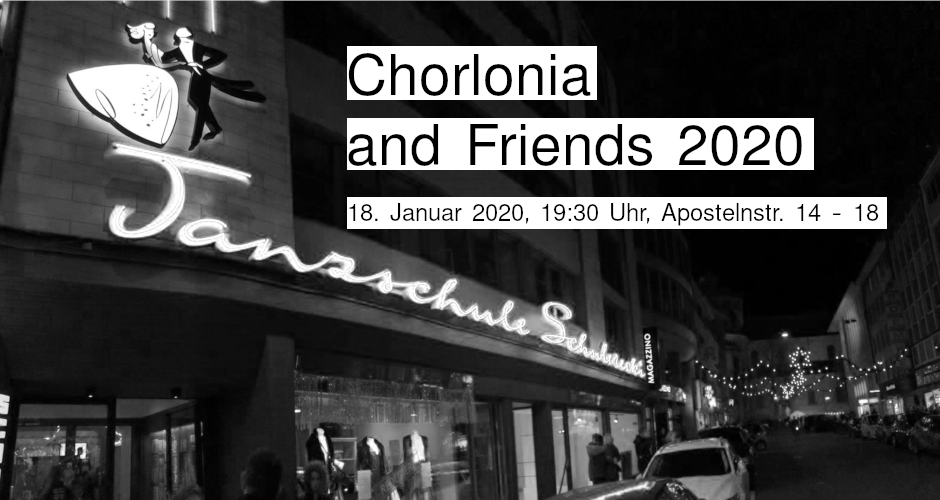 Chorlonia and Friends 2020